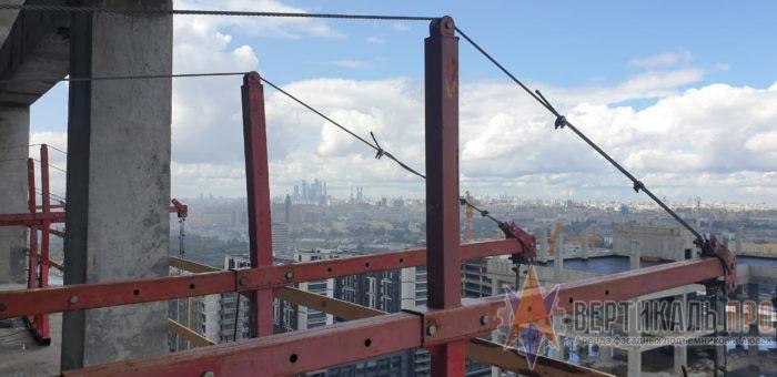 Консоли строительных подъемников ZLP